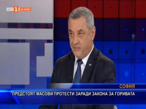 Валери Симеонов: Още преди 6 месеца предупредих, че Законът за горивата ще предизвика масови недоволства