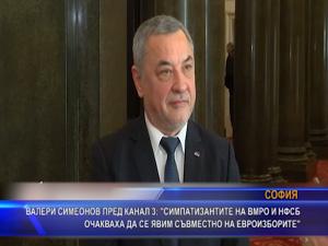 Симеонов: Симпатизантите на ВМРО и НФСБ очакваха да се явим съвместно на евроизборите
