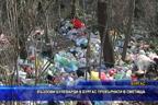 Възлови булеварди в Бургас превърнати в сметища