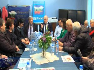 Народният представител от НФСБ Георги Колев се срещна с жители на област Перник
