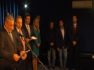 НФСБ представи кандидата за кмет на София и общинските съветници (разширен)