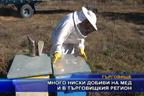 Много ниски добиви на мед и в община Търговище