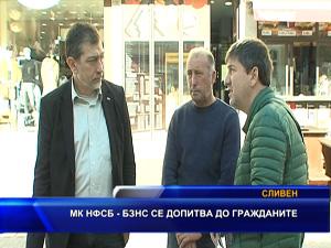 МК НФСБ - БЗНС се допитва до гражданите