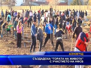 """Създадоха """"гората на живота"""" с участието на НФСБ"""
