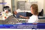 Ръст на кръводарителите във Варненско