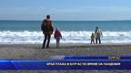 Край плажа в Бургас по време на пандемия