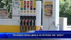 Рекордно ниска цена и за петрола тип